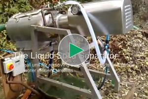 separating water effluent