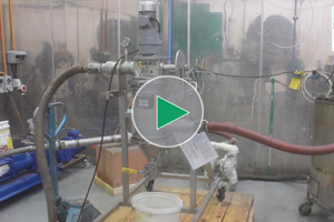 industrial liquid filter for tea slurry